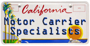 Motor Carrier Services California